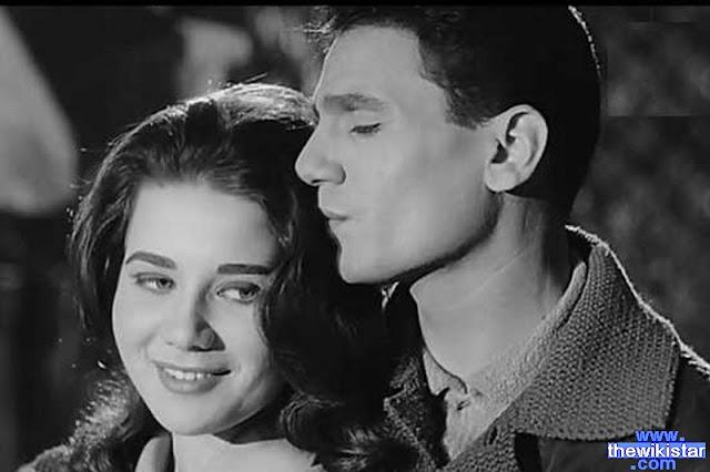 عبد الحليم حافظ، زبيدة ثروت، فيلم يوم من عمري، صور