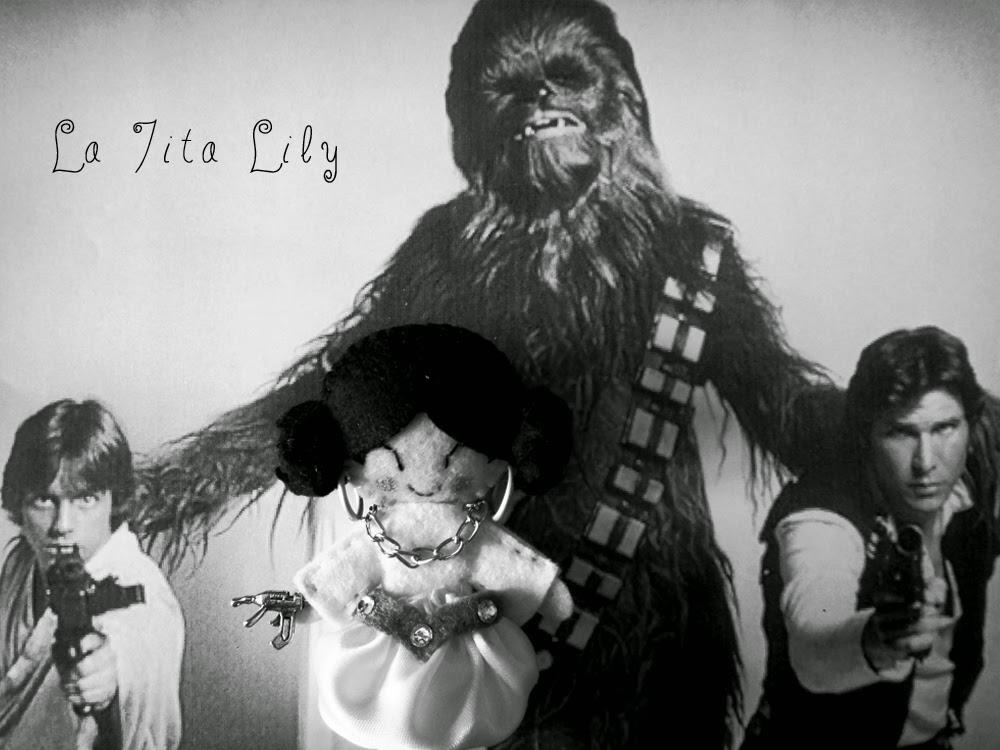 Broche princesa Leia