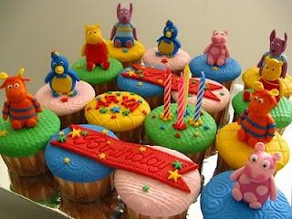 Backyardigans Birthday Cupcakes