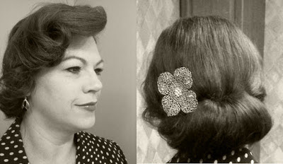 Retro Gran 1930 decade of hairstyles