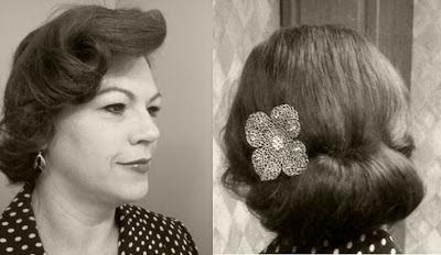 Retro Gran 1930 decade of hairstyles