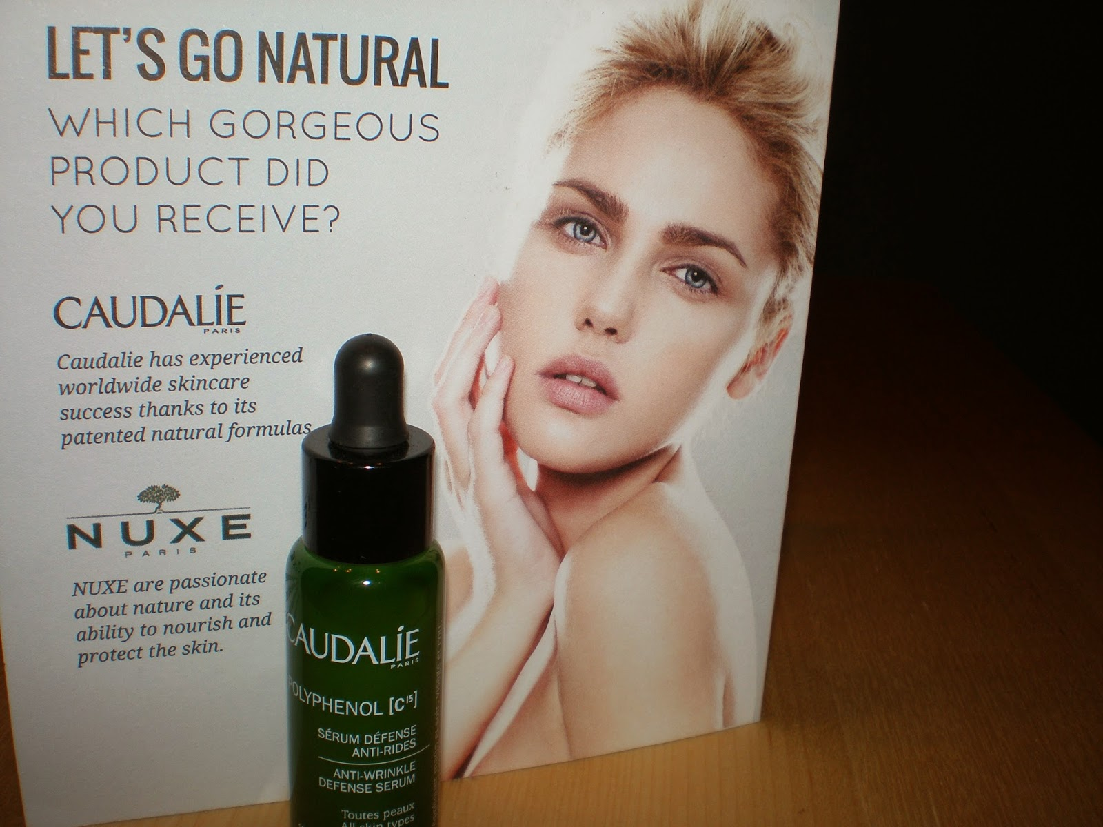 Caudalie Polyphenol c15 Anti Wrinkle Defense Serum