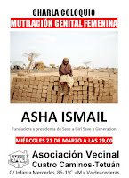 Charla coloquio con Asha Ismail: Mutilación genital femenina
