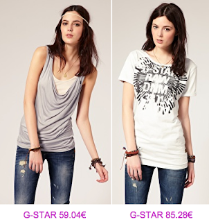 G-Star Raw camisetas