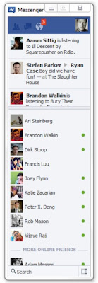 Facebook Messenger Desktop Client Main Friends List Windows