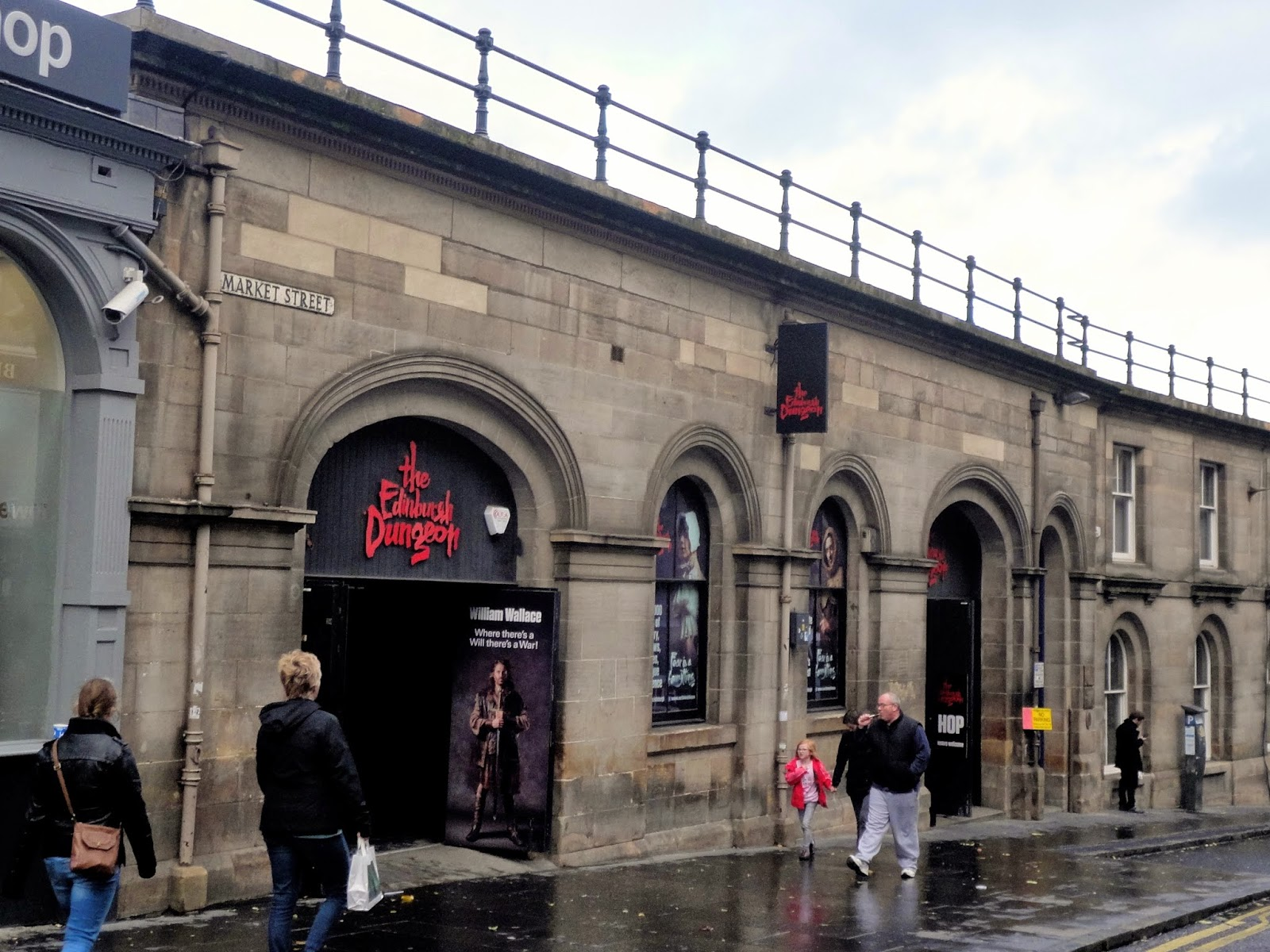 Exterior of the Edinburgh Dungeon