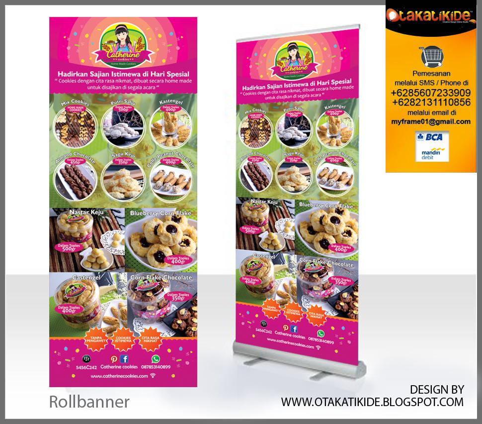 Jasa Desain Promosi Desain Rollbanner Xbanner Brosur Poster Jakarta Gresik Sidoarjo Surabaya Bali Solo