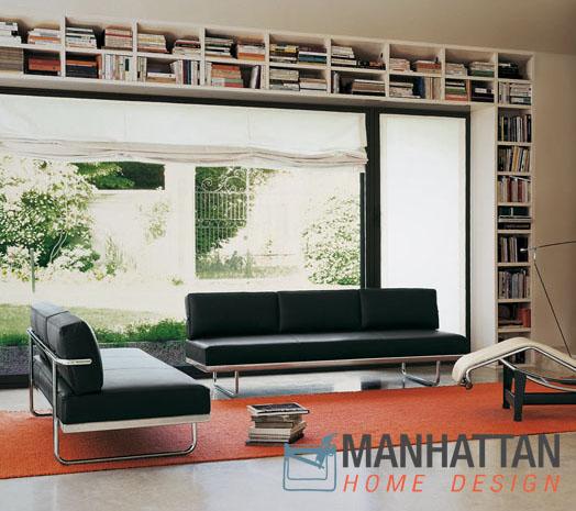 Lc5 Le Corbusier Sofa Bed