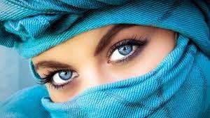 Gambar Mata Indah Wanita Cantik Timur Tengah