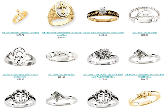 Catholic Rings Goods