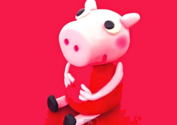 Modelar a Peppa pig con fondant