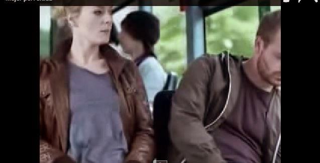 Mujer Pervertida y Calentona en el metro