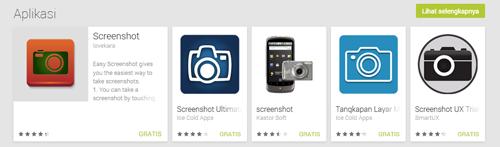 Cara mengambil screenshot pada Samsung Galaxy Grand Duos