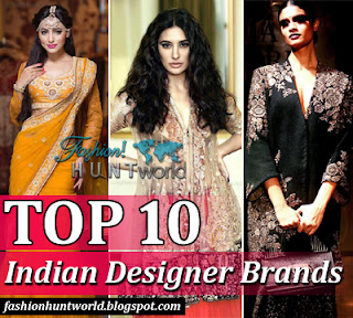 Top 10 Indian Designer Brands