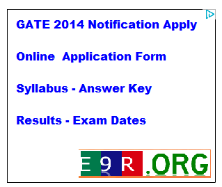 Gate 2014 Online Application for Entrance Exam Apply at gate.iitkgp.ac.in