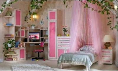 Decoraciones y modernidades dormitorios modernos para for Recamaras modernas ninas