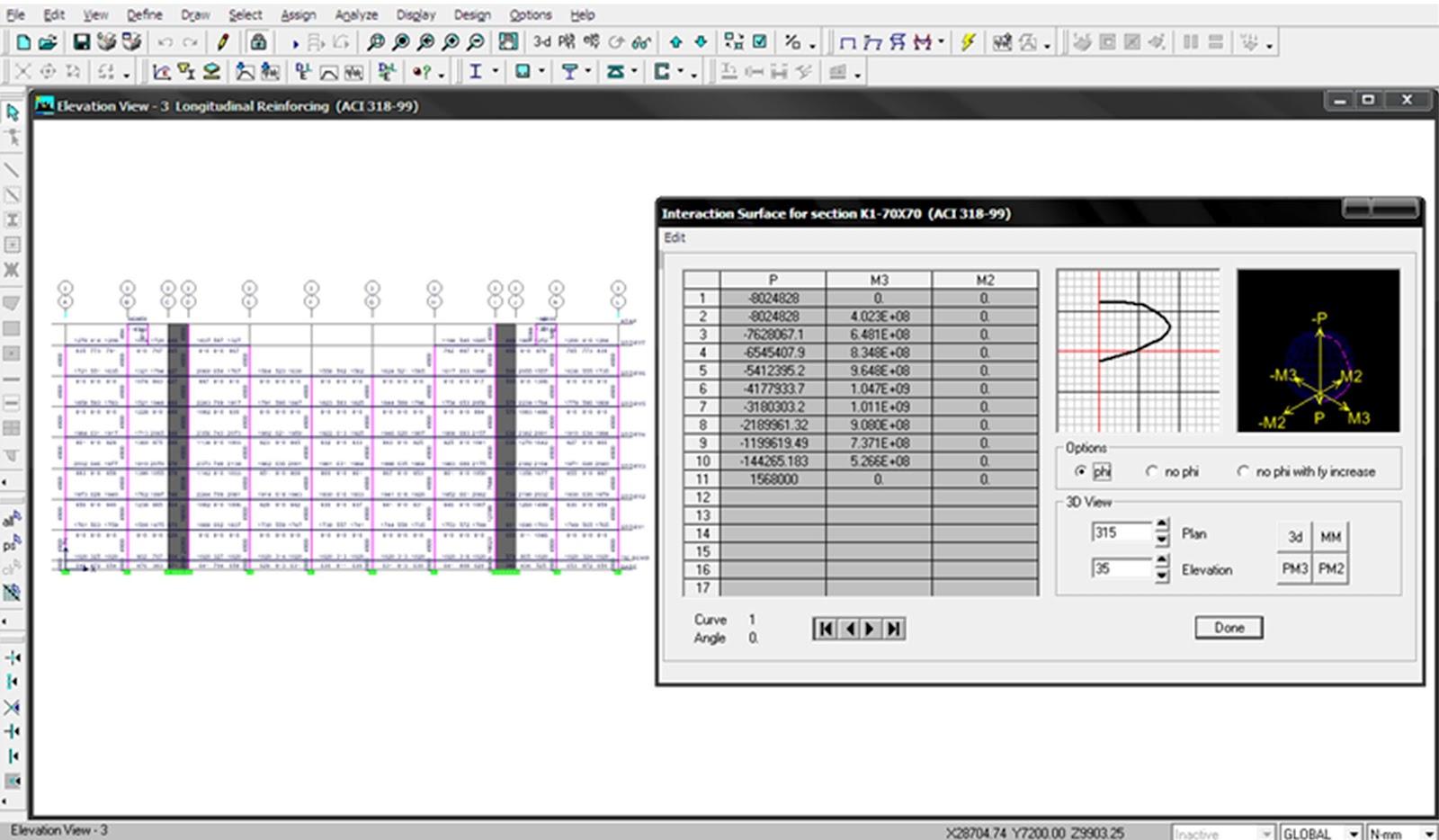 Ebook aplikasi perencanaan struktur gedung dengan etabs dari diagram interaksi tersebut dapat diketahui hubungan antara momen dengan gaya aksial yang bekerja pada kolom ccuart Image collections
