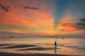 Wisata Pantai Melur Pulau Galang Batam