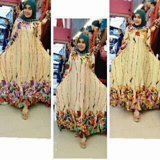 Gaun mewah sweet seventeen muslimah