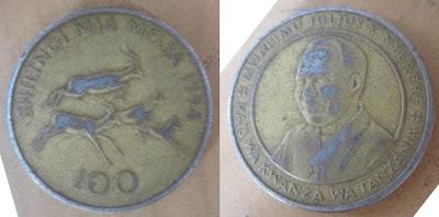tanzania 100 shilingi 1994