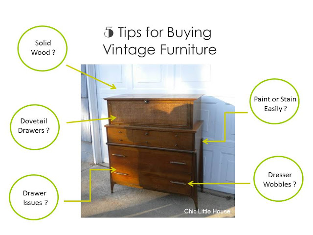 Five tips for buying vintage dressers