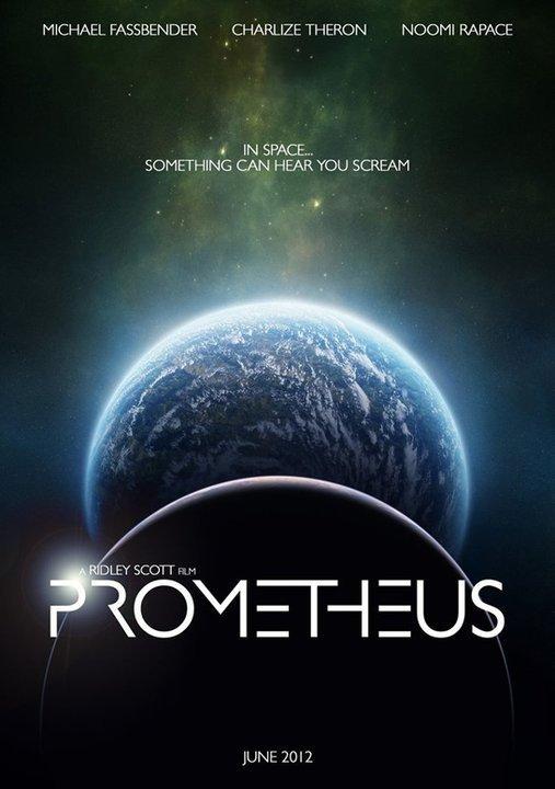 Prometheus Logo Movie Trailer Fans Blog