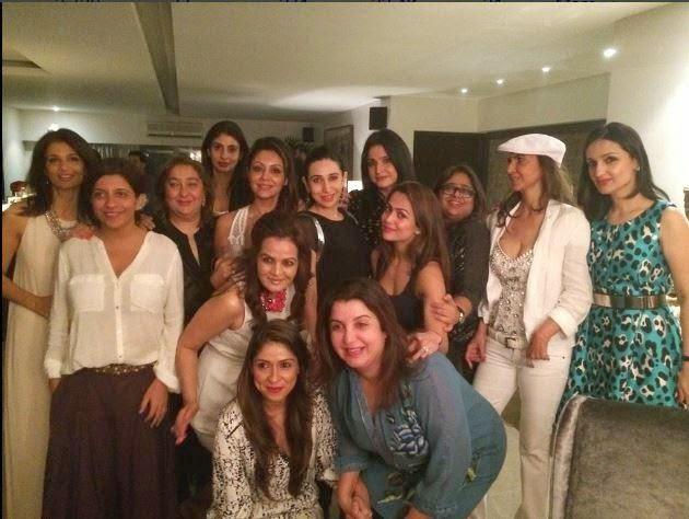 Celebs at Gauri Khan's birthday bash! gallery