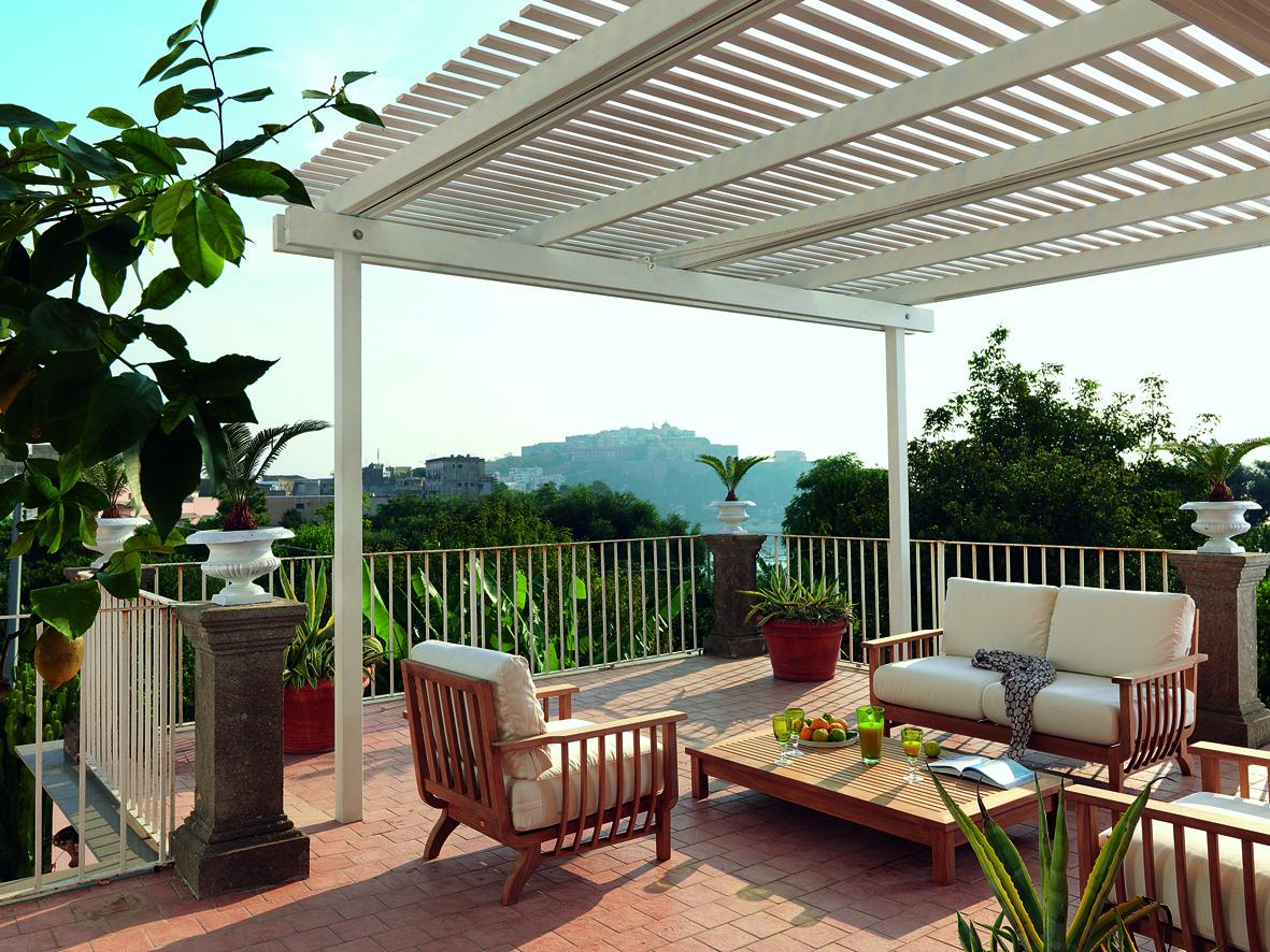 La casa in vetrina arredare l 39 outdoor il terrazzo for Arredi per terrazzo