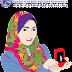 Freebies Doodle Muslimah Tunjuk Cincin Tunang