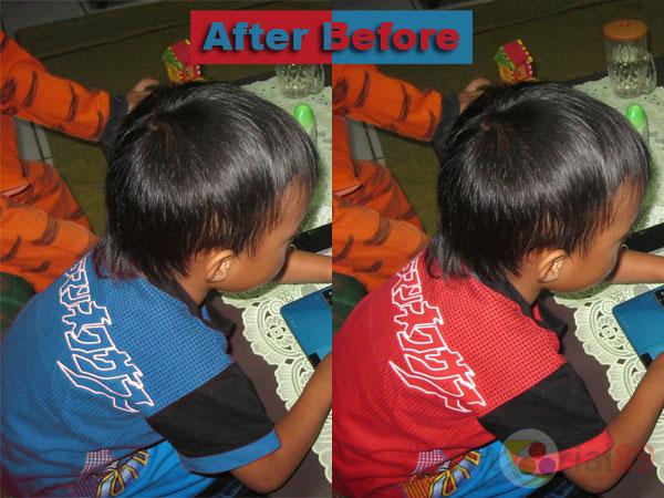 Cara mengganti warna baju dengan photoshop