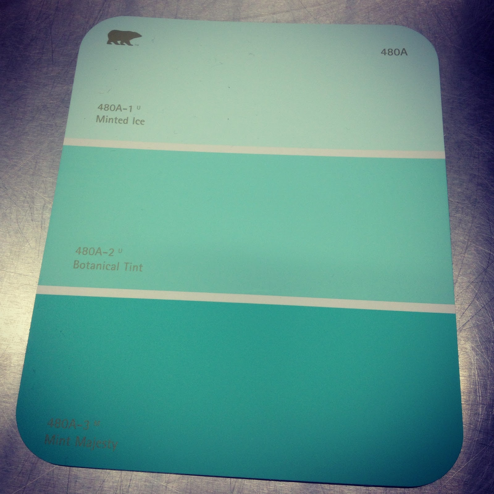 The lowe down paint party alli 39 s room for Seafoam blue paint color