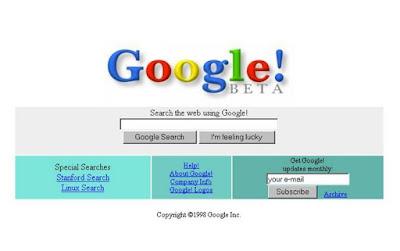 Selamat Ultah Untuk Mbah Google yang Ke-17