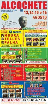 Alcochete- Feira Taurina 2017