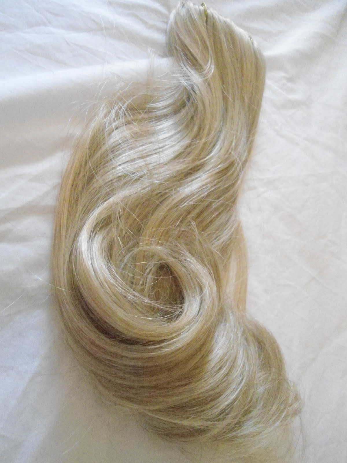 Lightest Blonde Hair Extensions 84