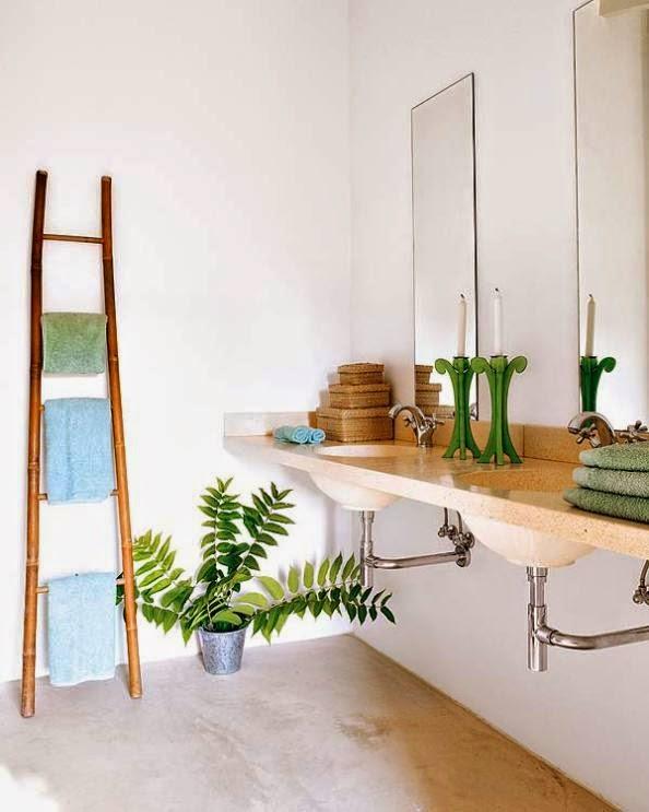 decorar en tonos verdes