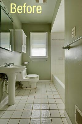 The Bath Showcase Before And After Zinka S Diy Bath Remodel