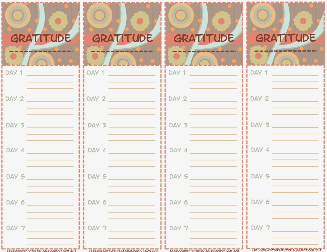 Stupendous image regarding free printable gratitude journal pages