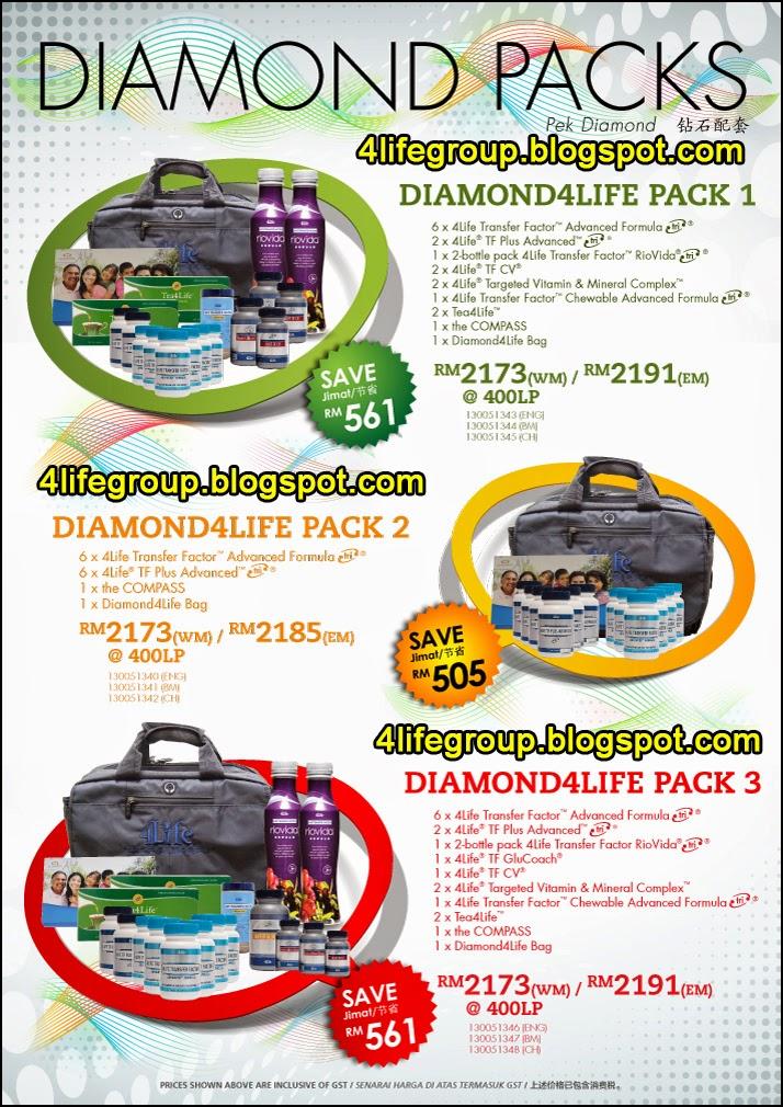 foto Diamond Pack 4Life Malaysia