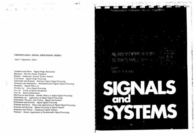 Oppenheim signals and systems pdf free
