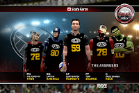 NBA 2K12 Justice League Vs The Avengers V4 Mod DC Marvel