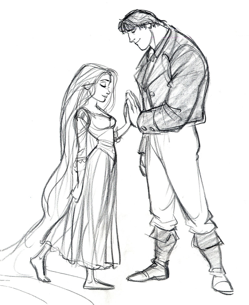 Disney Tangled Character Design : Living lines library tangled characters