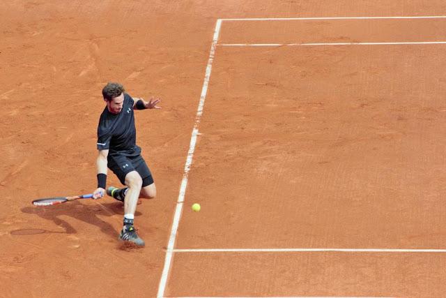 Andy Murray Roland Garros