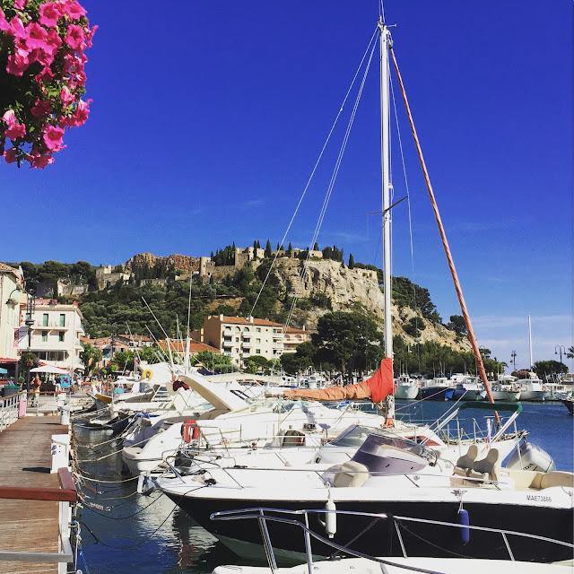 Cassis port, France