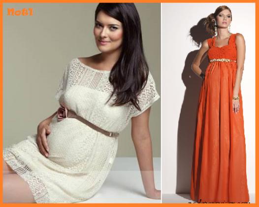 vestido de gravida para festa