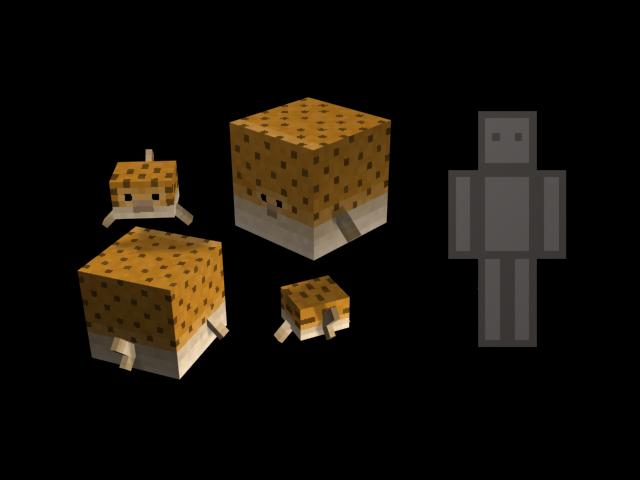 Minecraft 1.8 - Quintessential Creatures 2.0
