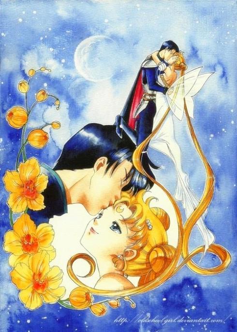 Sailor Moon: Prince Endymion and Princess Serenity