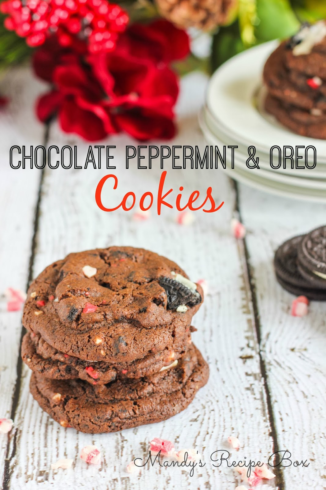 Virtual Cookie Exchange: Chocolate Peppermint & Oreo Cookies from ...