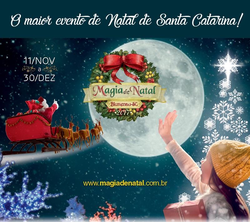 Magia de Natal em Blumenau
