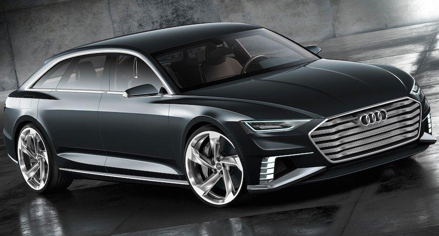 アウディがディーゼルPHVのコンセプトカー「プロローグ・アヴァント」を発表
