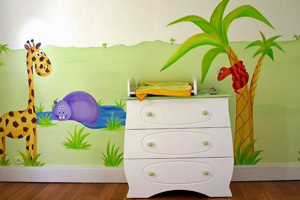 Décoration mur chambre bébé  Bébé et décoration  Chambre